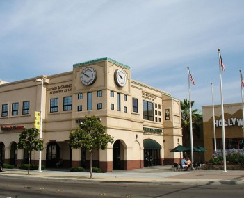 Office building on El Cajon's Main Street