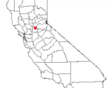 Location of Fair Oaks, California
