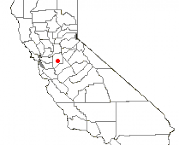 Location of French Camp, California