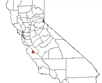 Location of Greenfield, California