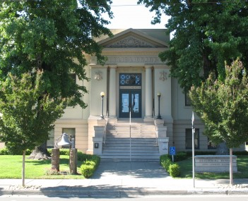 The Healdsburg Carnegie library, which now houses the Healdsburg Museum