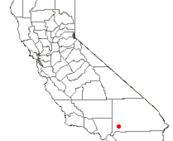 Location of Hesperia, California