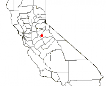 Location of Jamestown, California