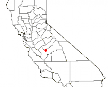 Location of Kerman, California