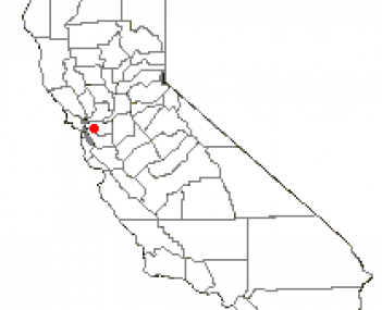 Location of Lafayette in California