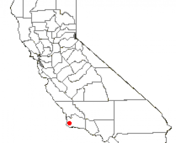 Location of Mission Hills, California
