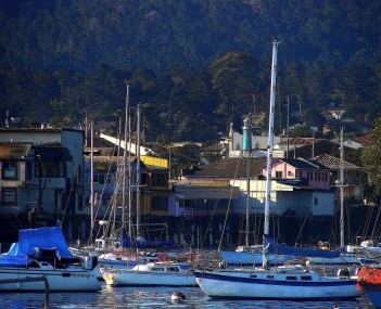 seen from  Monterey Bay