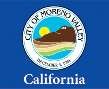 Flag for Moreno Valley