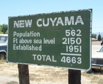 View of New Cuyama