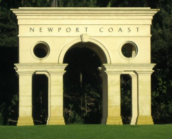 View of Newport Coast