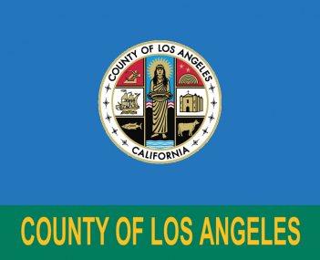 Flag of Los Angeles County California