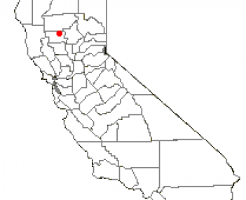 Location of Orland, California