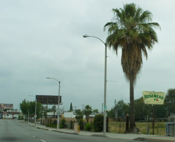 Valley Boulevard in Rosemead