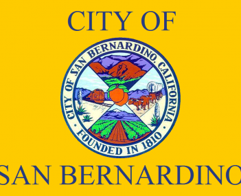 Flag for San Bernardino