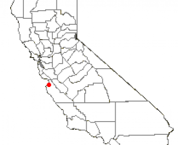 Location of Seaside, California