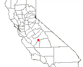 Location of Selma, California