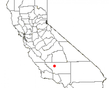 Location of Shafter, California
