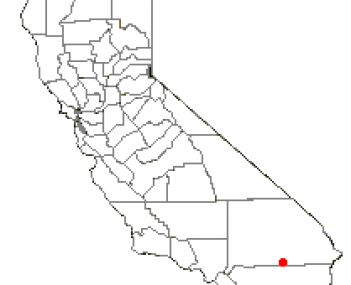 Location of Twentynine Palms, California
