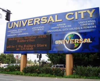 View of Universal City