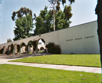 Upland City Hall  and Upland Public Library