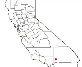 Location of Victorville, California