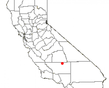 Location of Wofford Heights, California