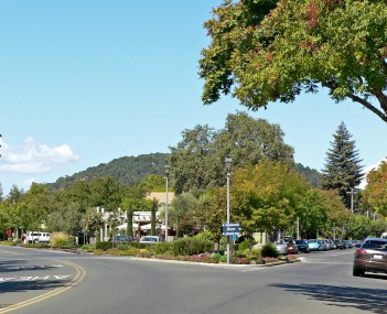 View of Yountville