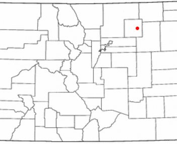 Location of Brush, Colorado