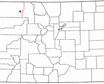 Location of Craig, Colorado