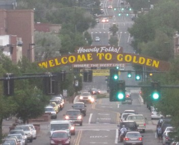 A view of downtown Golden