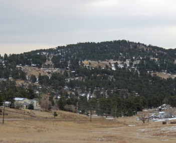View of Indian Hills