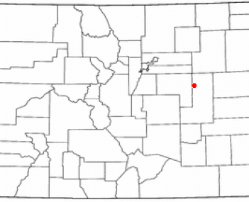 Location of Limon, Colorado