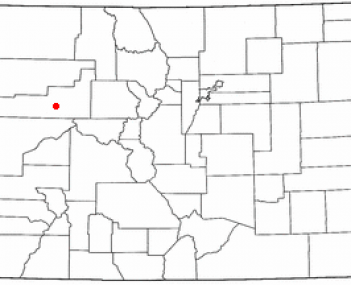 Location of Rifle, Colorado