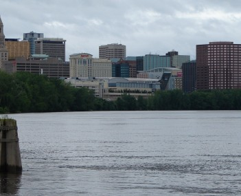 Skyline of Hartford viewed from the Connecticut River
