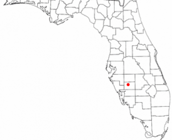 Location of Arcadia, Florida