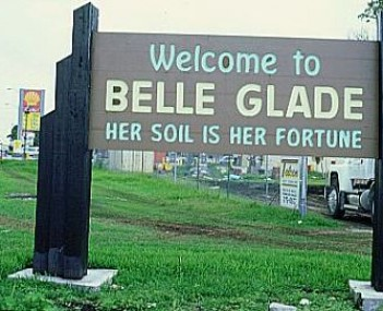 Skyline view of Belle Glade