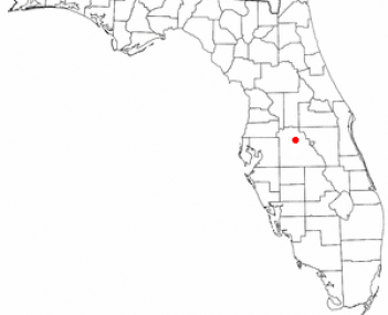 Location of Lake Alfred, Florida