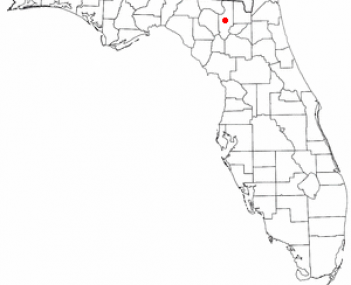 Location of Lake City, Florida