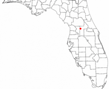 Location of Leesburg, Florida