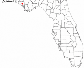 Location of Lynn Haven, Florida
