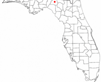 Location of Madison, Florida