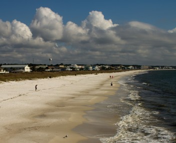 View of Mexico Beach