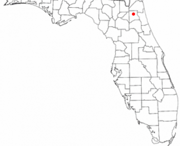 Location of Middleburg, Florida
