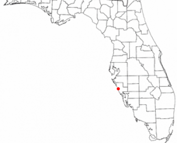Location of Nokomis, Florida