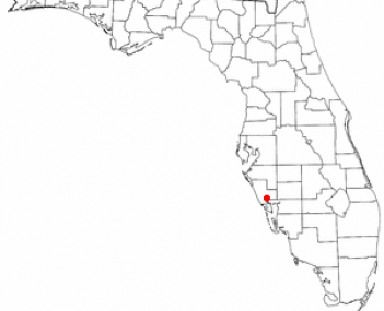Location of North Port, Florida