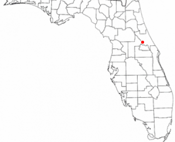 Location of Orange City, Florida