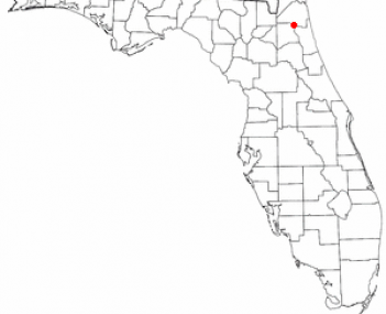 Location of Orange Park, Florida