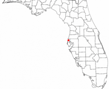 Location of Palm Harbor, Florida