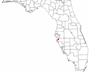 Location of Palmetto, Florida