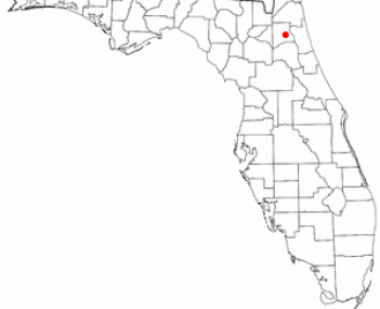 Location of Penney Farms, Florida